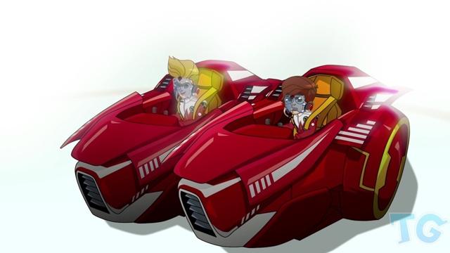 Inspired by Ferrari Drakers, A New Car Racing Cartoon
